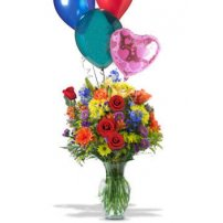 Balloons & Flowers, USA, Sterling